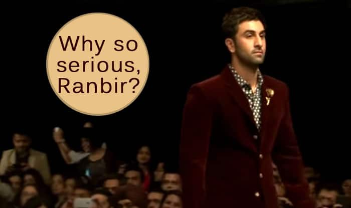 Lakme Fashion Week 2015: Ranbir Kapoor on the ramp! But why so serious? (Watch video)