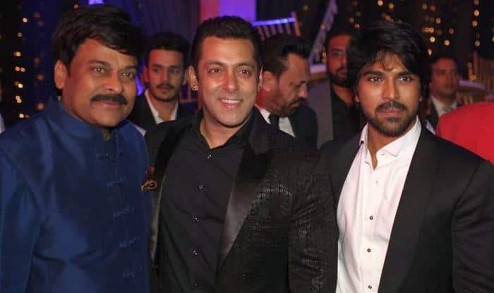 Salman Khan dances at Chiranjeevi birthday bash to Selfie Le Le Re and Daddy Mummy song!