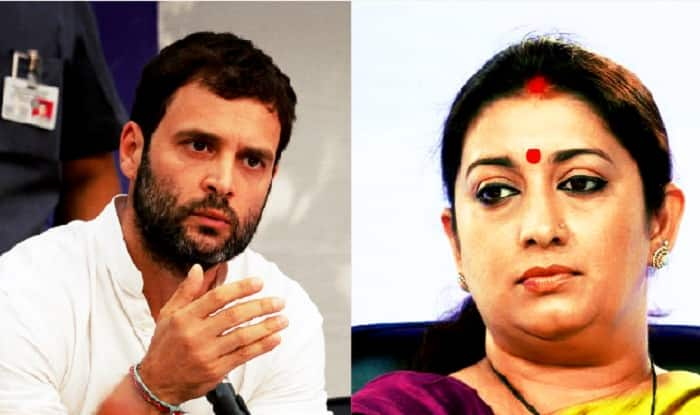 Congress hits back at Smriti Irani on land grab allegations; Says due process was followed to acquire land