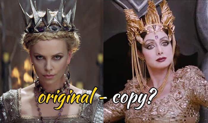 Puli movie Trailer: Is Sridevi as dark queen a copy of Charlize Theron's Queen Ravenna?
