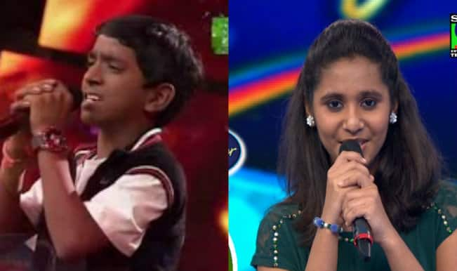 Indian Idol Junior 2015: Ajay Brijwasi and Srilakshmi Belmannu eliminated from the singing show!
