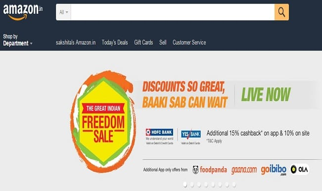 Amazon.in The Great Indian Freedom Sale Day 2: Amazing offers on smartphones, books and DVDs