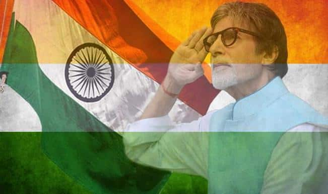 Independence Day 2015: Amitabh Bachchan among the first to post #SaluteSelfie pictures on Twitter!