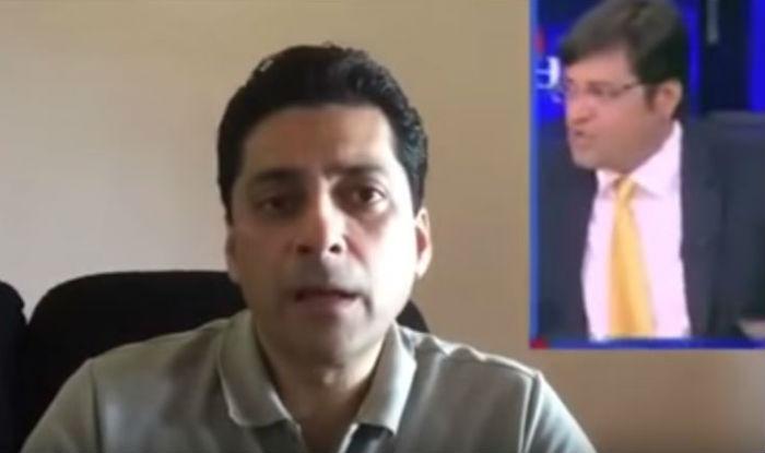 This Pakistani journalist in his own style lambastes Arnab Goswami over fake Dawood Ibrahim report