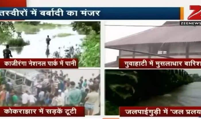 Assam floods: 13 dead, 6.5 lakh people affected (Video)