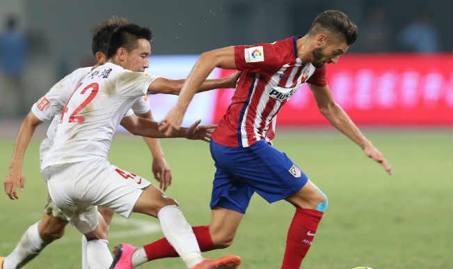 एटलेटिको मेड्रिड ने शंघाई एसआईपीजी को 3-0 से हराया