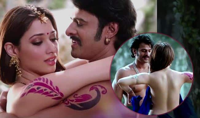 Prabhas & Tamannaah in hottest love-making scene ever: Watch Bahubali & Avanthika in erotic Pacha Bottasi song!
