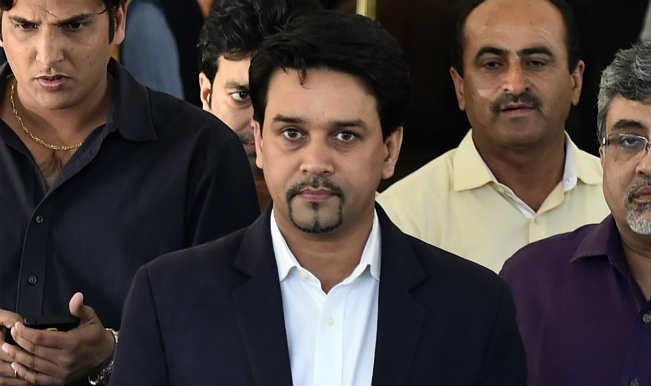 Anurag Thakur denies involvement in HPCA land allotment case