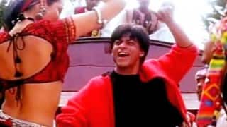 Shah Rukh Khan Dubsmashes Chaiyya Chaiyya in his car for '17 years of Dil Se'