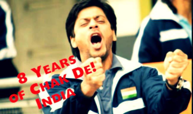 Shah Rukh Khan fans celebrate 8 years of Chak De! India