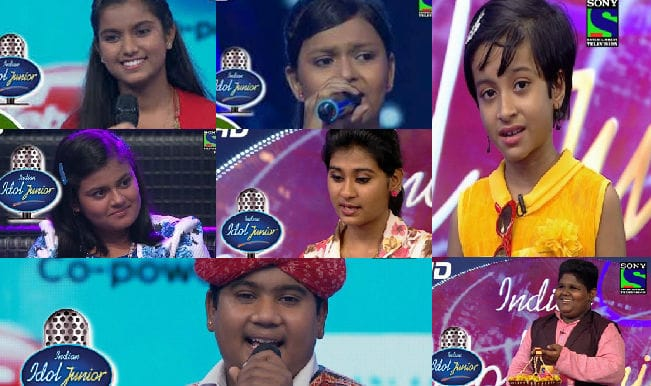 Indian idol Junior 2015: Meet the top 7 finalists of the singing reality show!