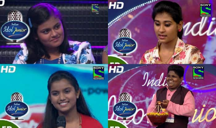 Indian Idol Junior 2015: Meet top 4 finalists of season 2; Tell us who is your favourite!