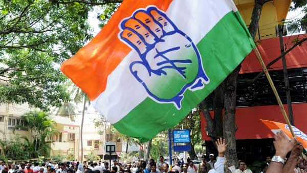Congress protests in Lucknow, seeks revoking of MPs' suspension