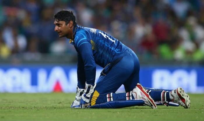 Indian team gives guard of honour to retiring Kumar Sangakkara