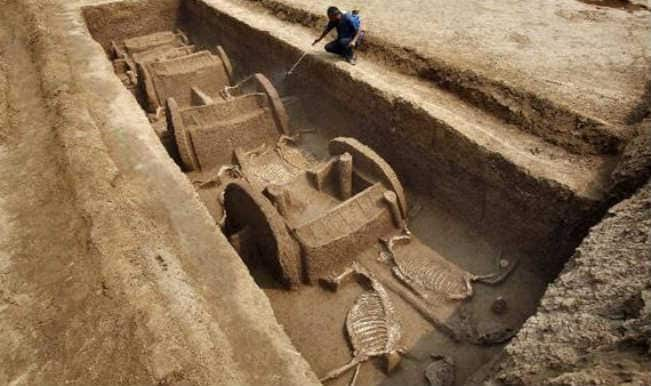 Millennia-old tomb complex uncovered in China's Xinjiang