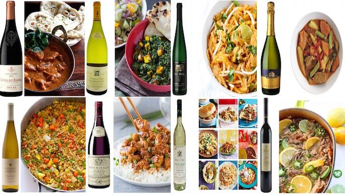 8 best international cusines and their wine pairings for Cuisine wine