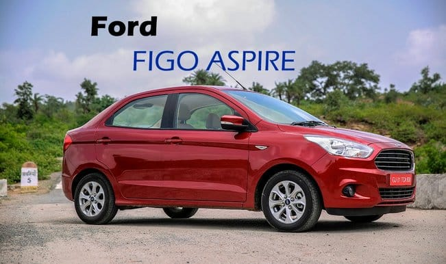 Ford Figo Aspire to be launched on August 12, 2015: Watch first drive and review!