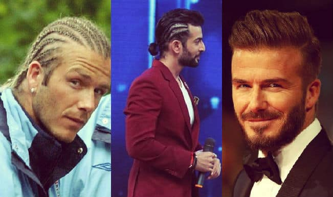 Jay Bhanushali's new look inspired by soccer star David Beckham