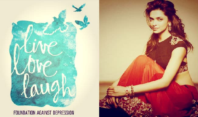 Deepika Padukone unveils the logo of The Live Love Laugh Foundation