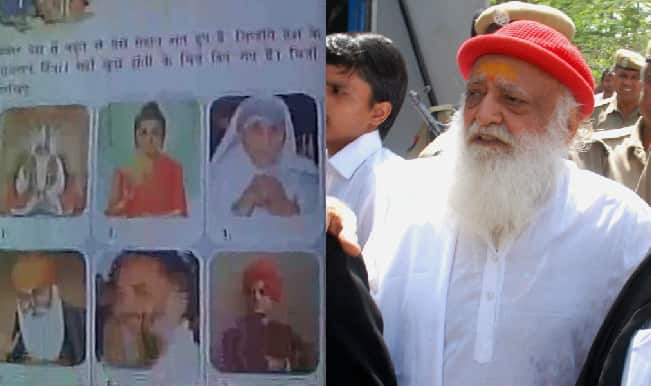 Asaram Bapu listed among 'Country's famous saints' in Class 3 Rajasthan textbook