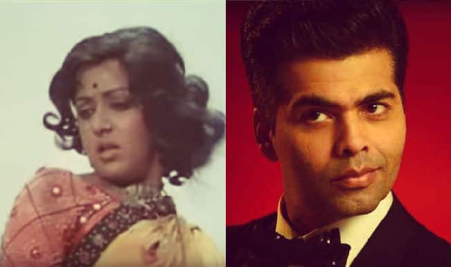 Sholay turns 40: Karan Johar remembers dancing to Hema Malini's song Jab Tak Hai Jaan