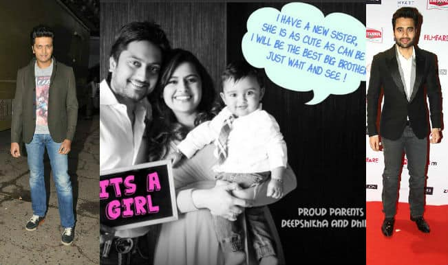 Riteish Deshmukh and Jackky Bhagnani become proud uncles of a little angel!