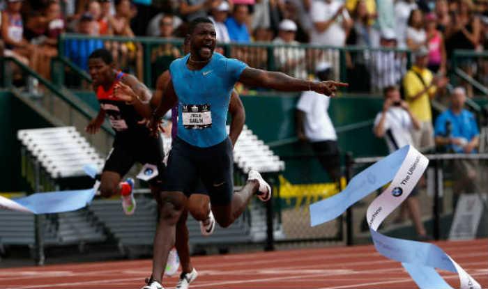 US sprinter Justin Gatlin vows to boycott British media over biased reports