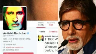 Amitabh Bachchan's Twitter account hacked! Sex sites showed as 'followed'