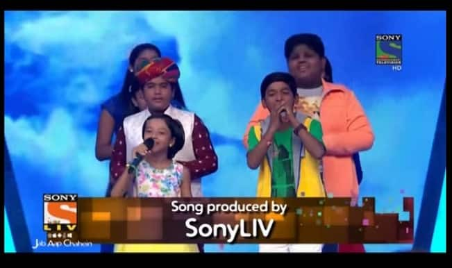 Indian Idol Junior 2015 song Choona Hai Aasma: Top 10 contestants sing new anthem! (Watch video)