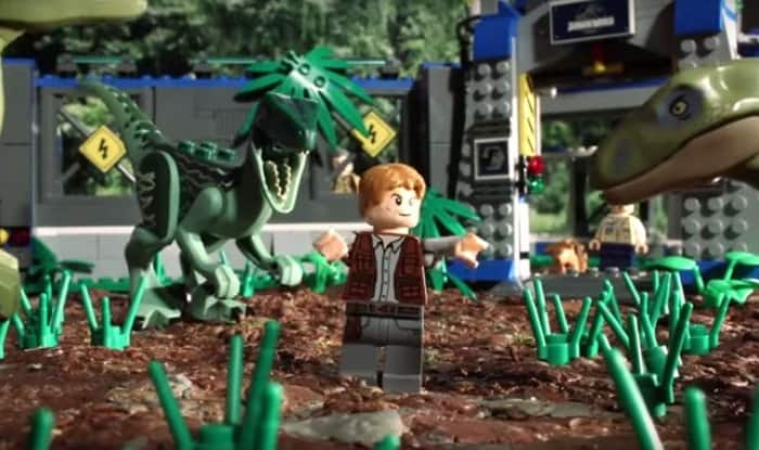 Watch Jurassic World in 90 seconds, in LEGO animation form!