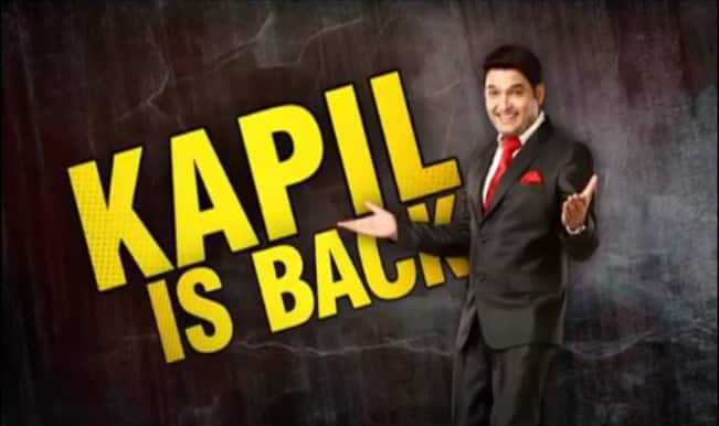Comedy Nights With Kapil Host Kapil Sharma Is Back With A