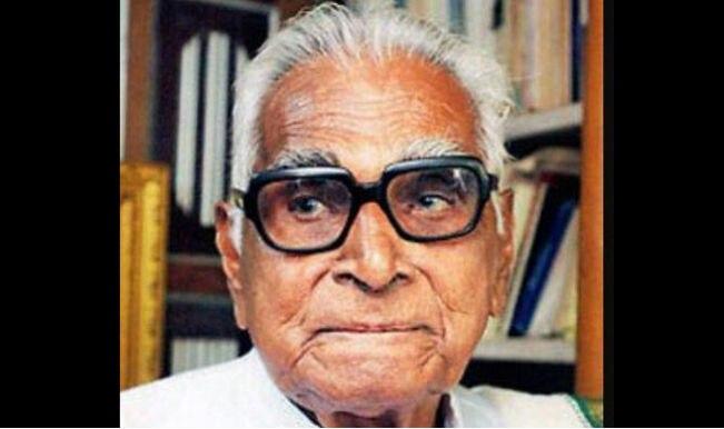 Kayyar Kinhanna Rai passes away at 100