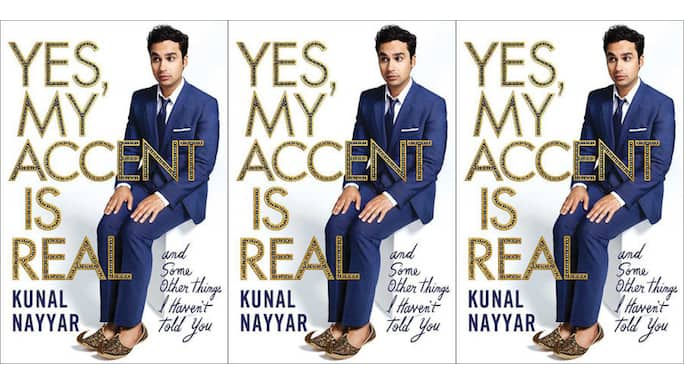 'The Big Bang Theory' Star Kunal Nayyar Releases Cover of New Book