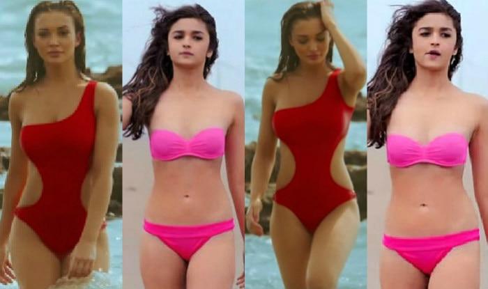 Amy Jackson in Singh Is Bling or Alia Bhatt in Shaandaar: Who looks hotter in Bikini?