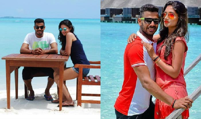 Manoj Tiwary & wife Sushmita Roy: Pictures of Indian cricketer holidaying in Maldives go viral!