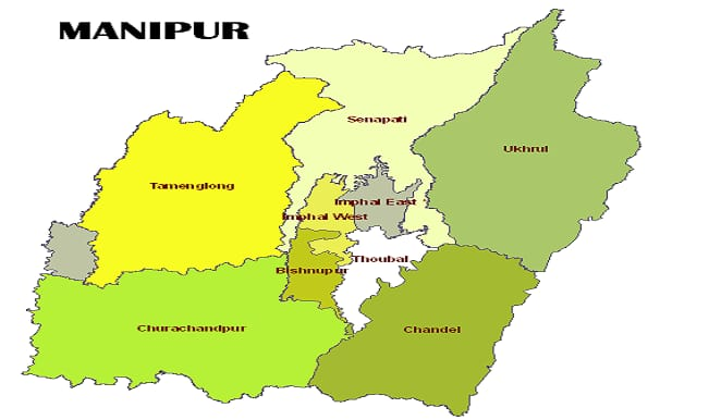 JCILPS stages protests for implementation of Inner Line Permit in Manipur
