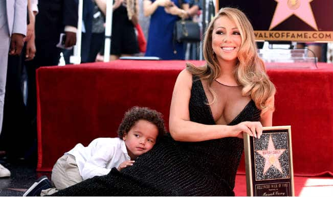 Mariah Carey receives star on the Hollywood Walk of Fame; 4-year-old son not pleased with the event!