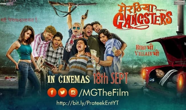 Meeruthiya Gangsters motion poster: Quirky or plain cheap? Watch it here!