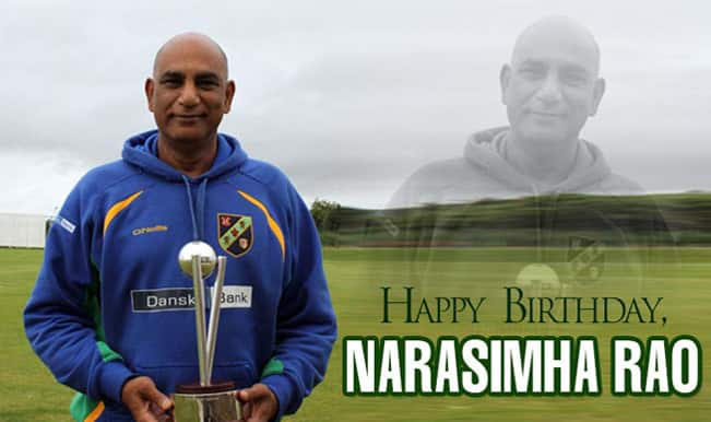 Narasimha Rao: Eight facts about the Hyderabad all-rounder