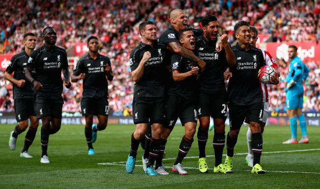 Arsenal slump to 2-0 defeat against West Ham United; Liverpool sneak past Stoke City through 1-0 win in Barclays Premier League 2015-16