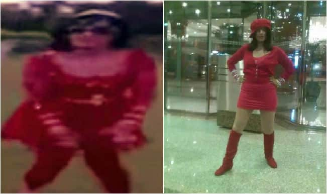 Radhe Maa performs before following on a popular Bollywood song (Watch video)