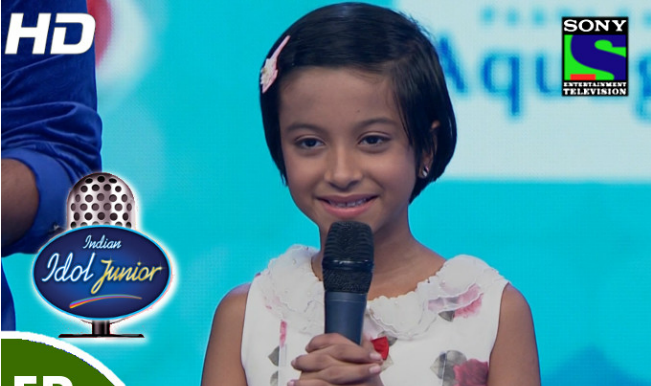 Indian Idol Junior 2015: Ranita Banerjee eliminated; the little dynamite ends her journey in the show!