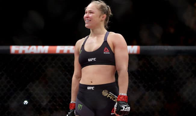 Ronda Rousey knocks out Bethe Correia in 34 seconds in UFC 190! (Watch Video)