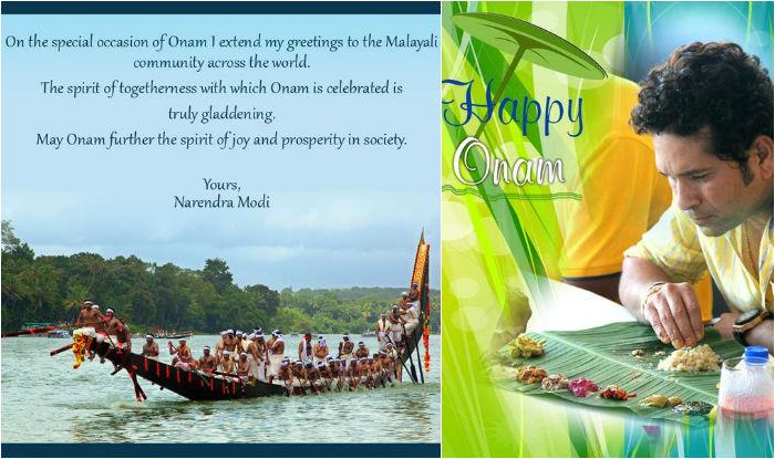 Happy Onam 2015: Narendra Modi, Rahul Gandhi, Sachin Tendulkar greet people on Malayalee festival