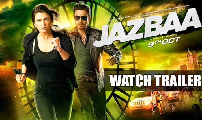 Jazbaa trailer out! Aishwarya Rai Bachchan and Irrfan Khan starrer looks unimpressive!