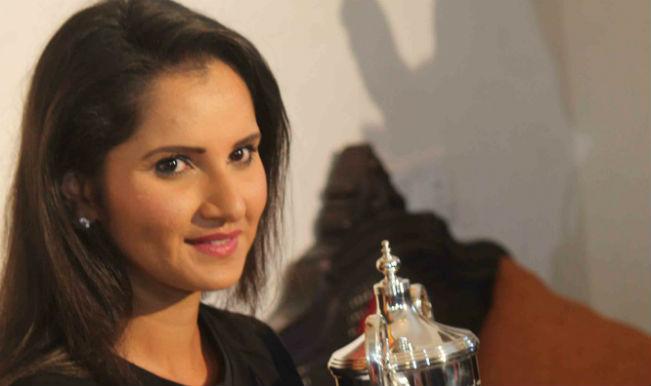 खेल रत्न अवार्ड की दौड़ में सानिया मिर्जा शीर्ष पर