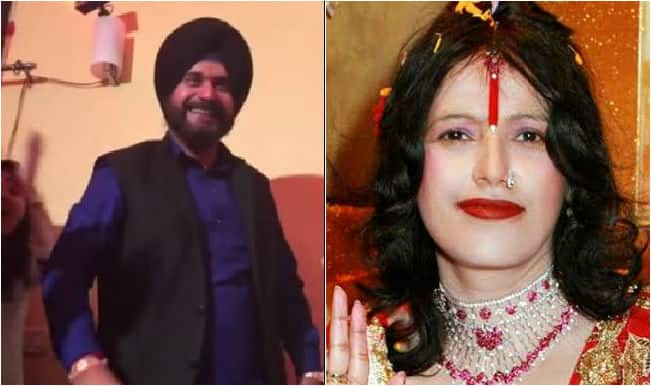 When Radhe Maa found a fan in Navjot Singh Sidhu! Watch video of Sidhu going gaga over fake godwoman!