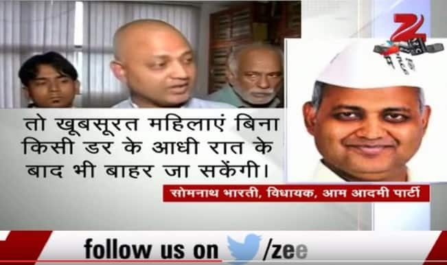 Somnath Bharti's 'beautiful women' remark in Vidhan Sabha provokes anger; wife reacts (Video)