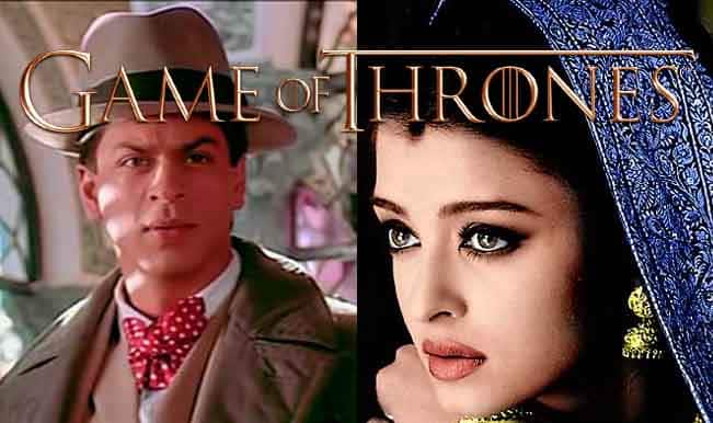 Shah Rukh Khan and Aishwarya Rai Bachchan in Game of Thrones?