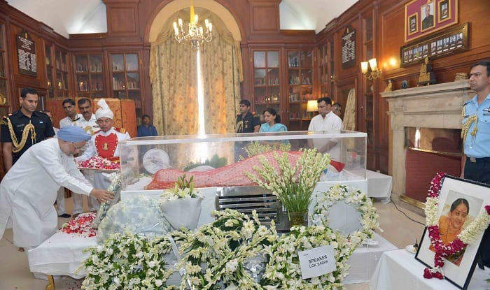 First Lady Suvra Mukherjee to be cremated today, Sheikh Hasina to attend funeral
